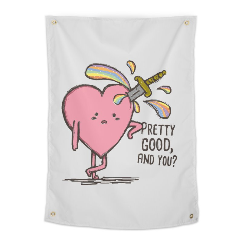FRIZZY LOVE  Home Tapestry by RiLi's Artist Shop