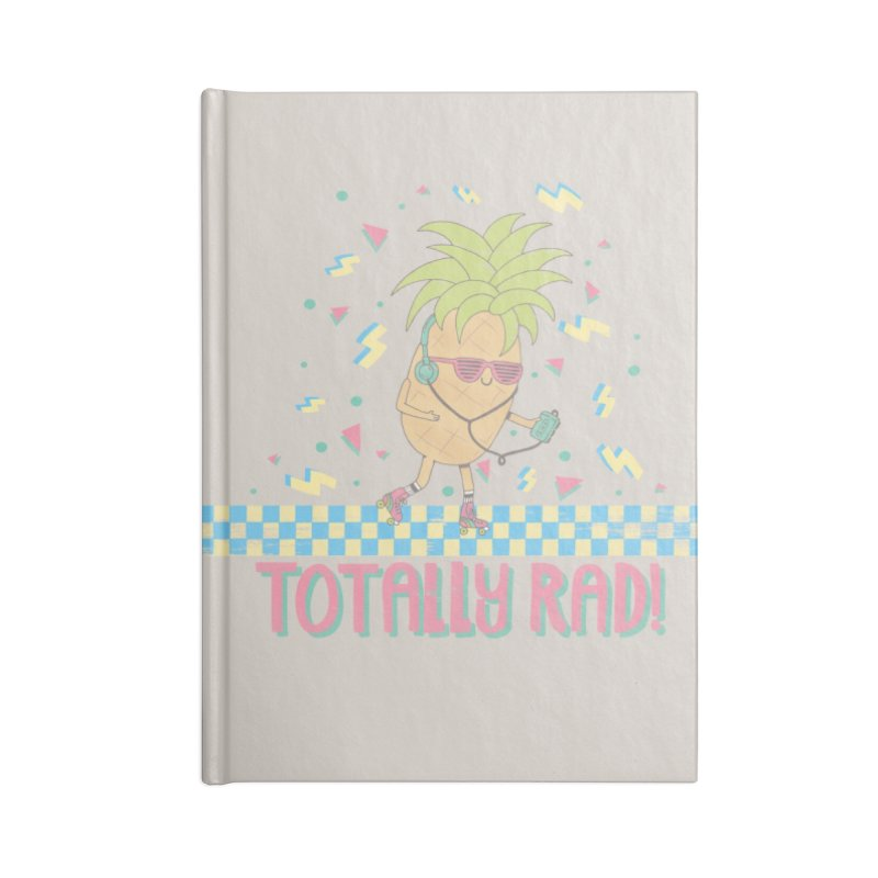 RADAPPLE Accessories Blank Journal Notebook by RiLi's Artist Shop