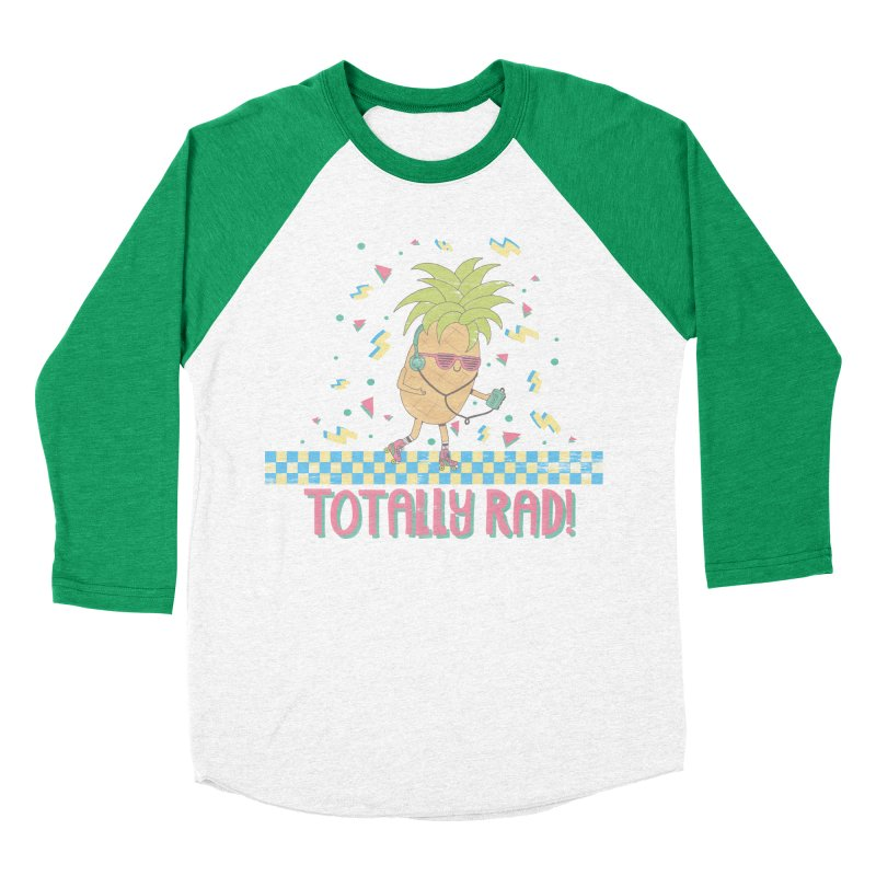 RADAPPLE Women's Baseball Triblend Longsleeve T-Shirt by RiLi's Artist Shop