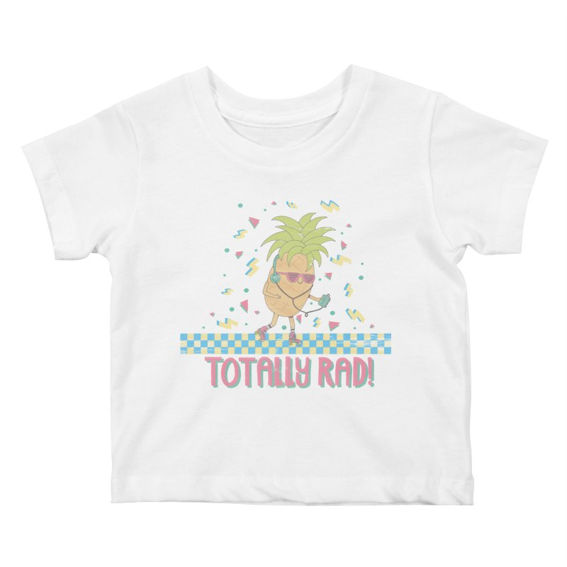 RADAPPLE Kids Baby T-Shirt by RiLi's Artist Shop