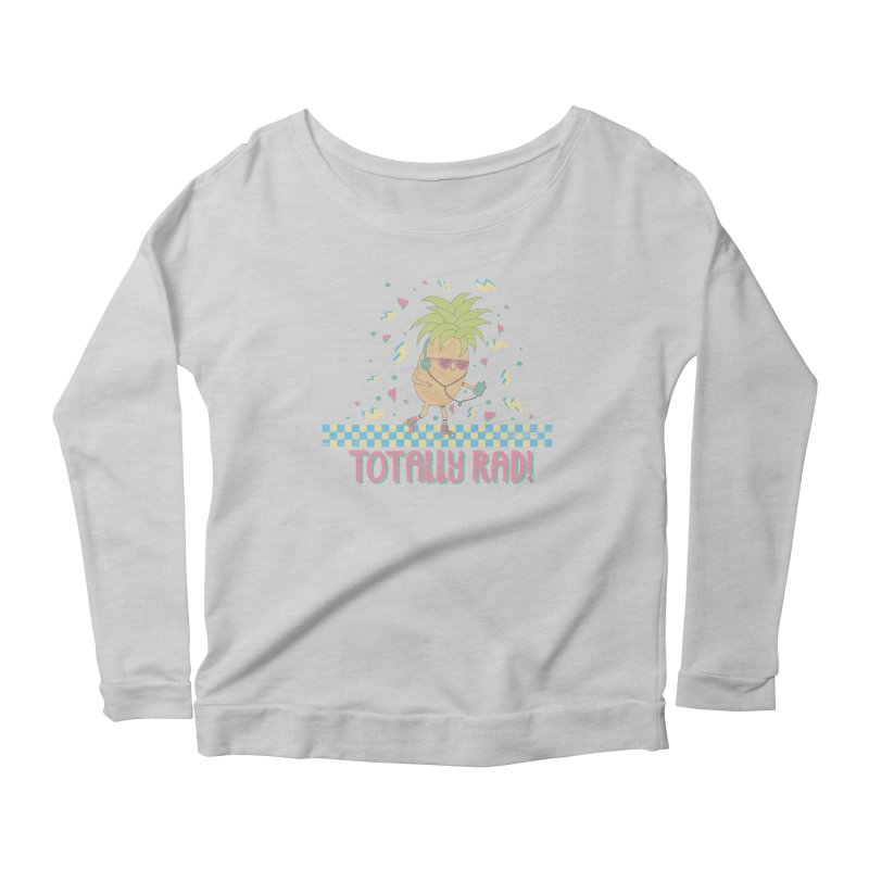 RADAPPLE Women's Scoop Neck Longsleeve T-Shirt by RiLi's Artist Shop