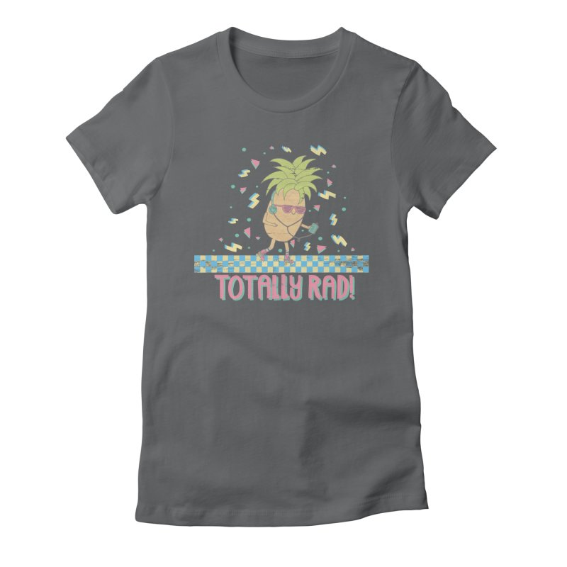 RADAPPLE Women's Fitted T-Shirt by RiLi's Artist Shop