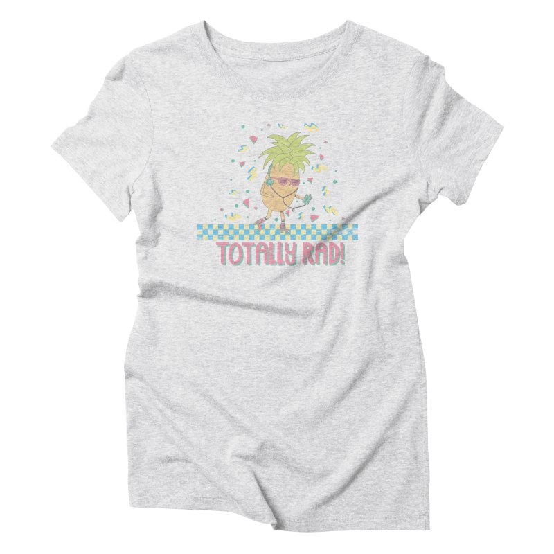 RADAPPLE Women's Triblend T-Shirt by RiLi's Artist Shop