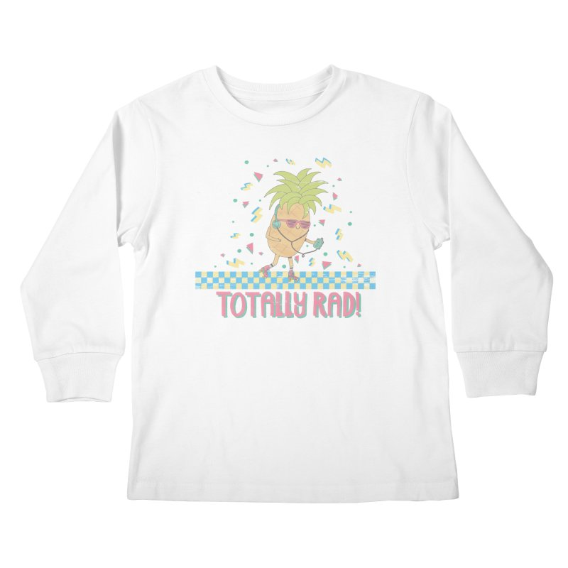 RADAPPLE Kids Longsleeve T-Shirt by RiLi's Artist Shop
