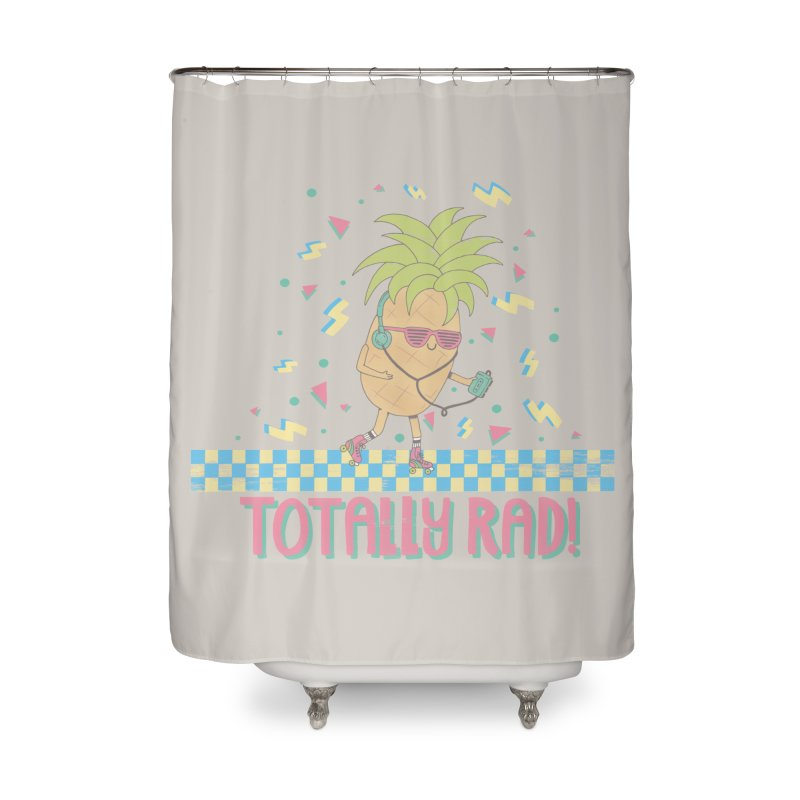 RADAPPLE Home Shower Curtain by RiLi's Artist Shop