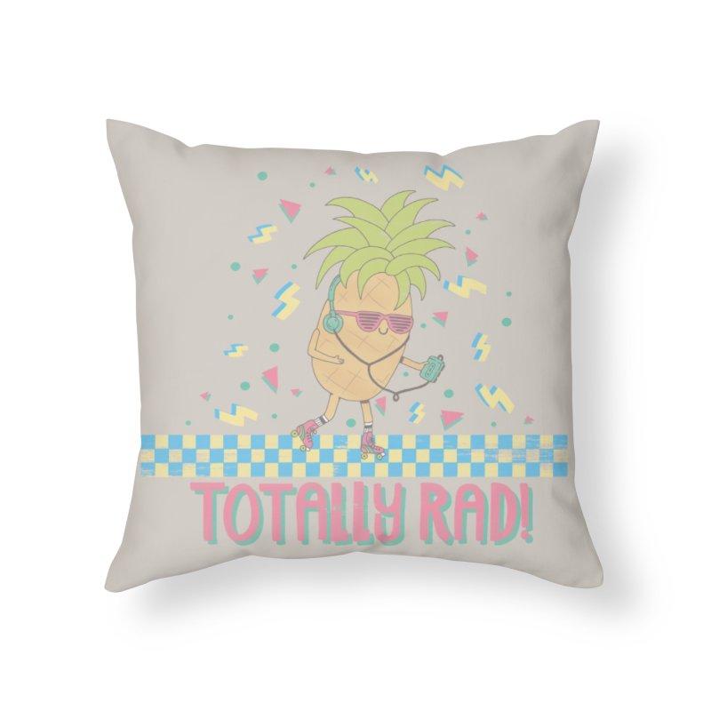 RADAPPLE Home Throw Pillow by RiLi's Artist Shop
