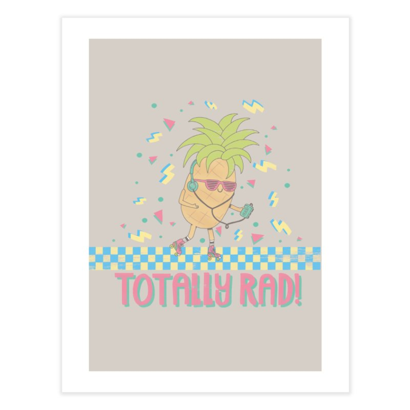 RADAPPLE Home Fine Art Print by RiLi's Artist Shop
