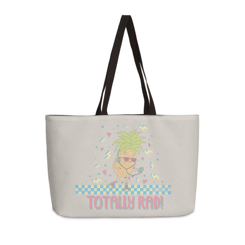 RADAPPLE Accessories Weekender Bag Bag by RiLi's Artist Shop