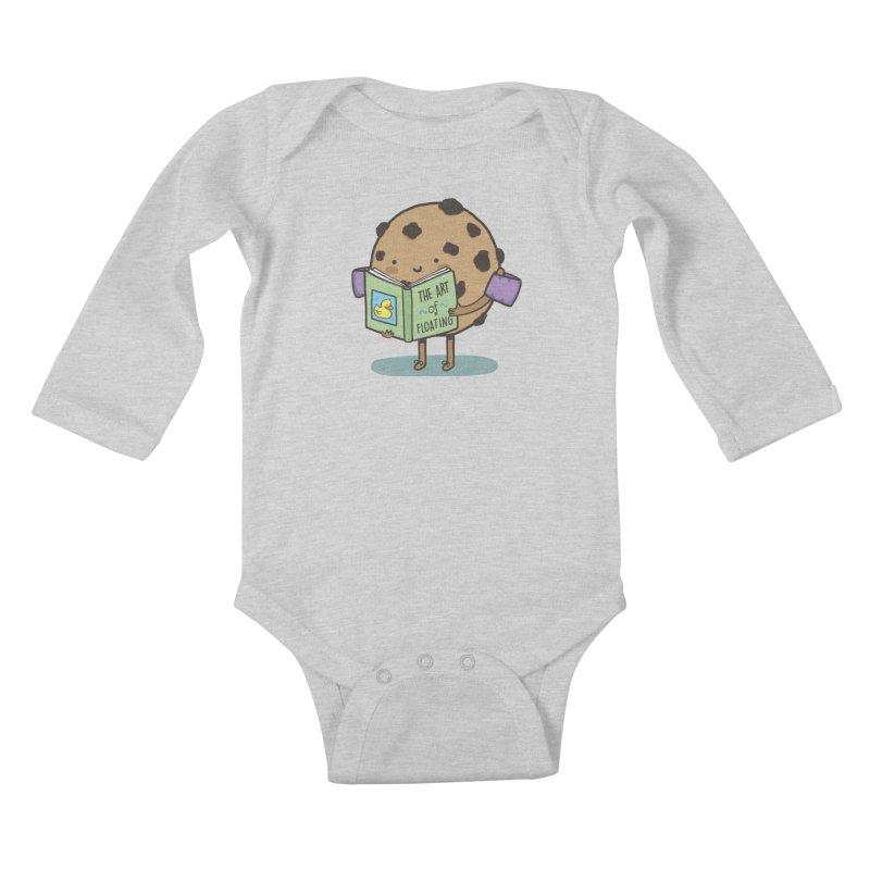 THE ART OF FLOATING Kids Baby Longsleeve Bodysuit by RiLi's Artist Shop