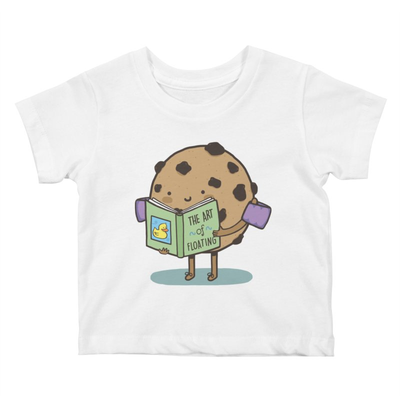 THE ART OF FLOATING Kids Baby T-Shirt by RiLi's Artist Shop