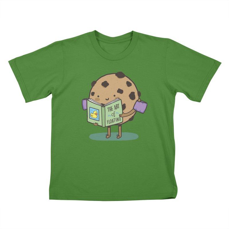 THE ART OF FLOATING Kids T-Shirt by RiLi's Artist Shop