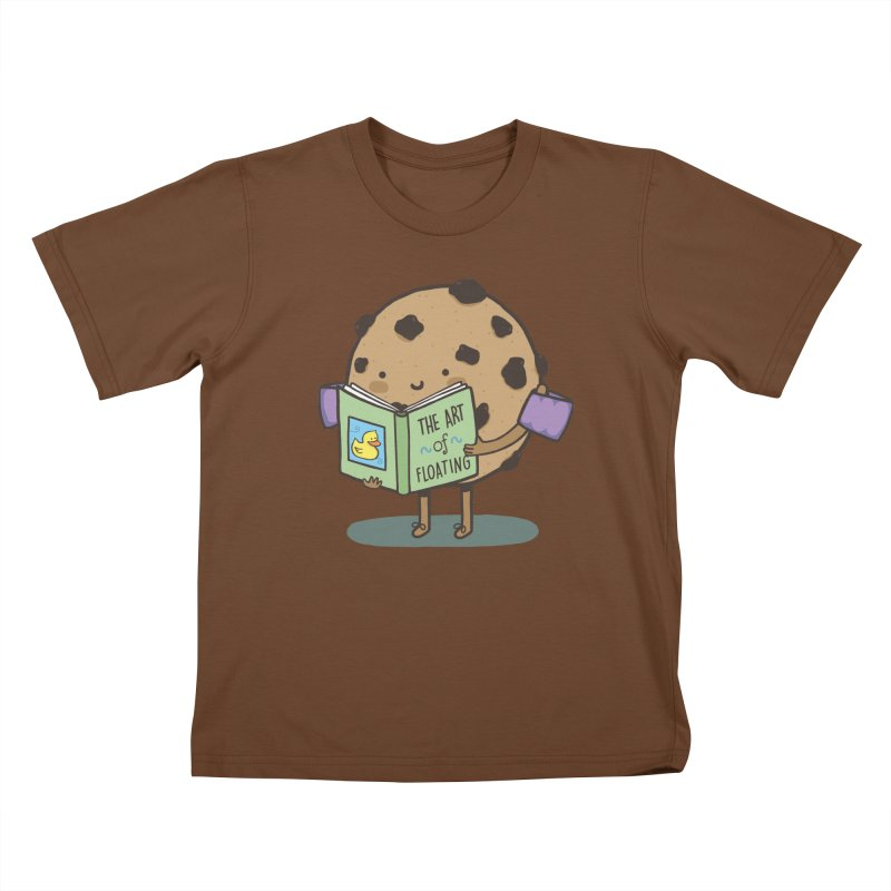 THE ART OF FLOATING Kids T-Shirt by RiLi's Artist Shop