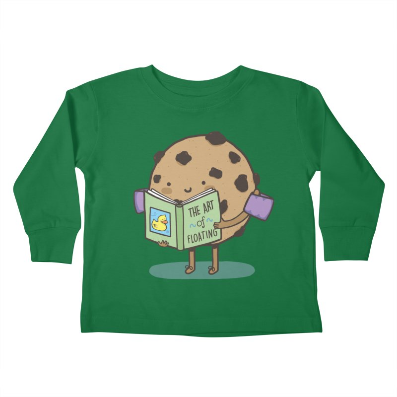 THE ART OF FLOATING Kids Toddler Longsleeve T-Shirt by RiLi's Artist Shop