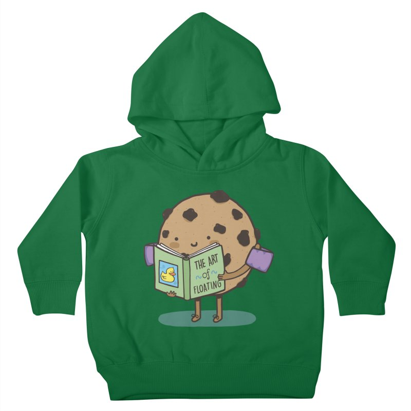 THE ART OF FLOATING Kids Toddler Pullover Hoody by RiLi's Artist Shop