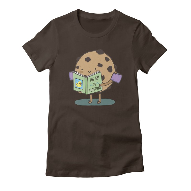 THE ART OF FLOATING Women's Fitted T-Shirt by RiLi's Artist Shop
