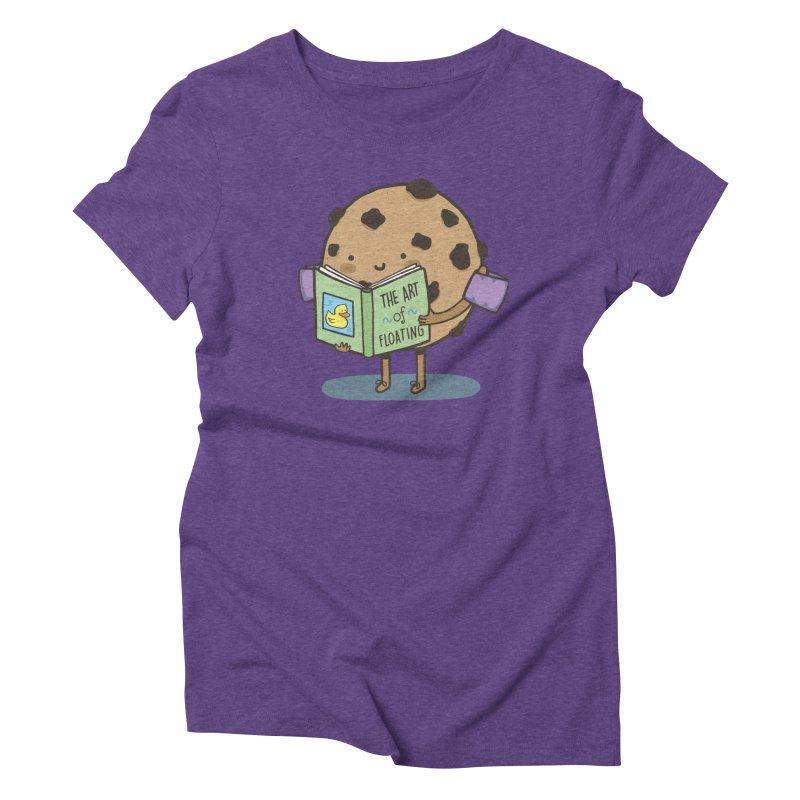 THE ART OF FLOATING Women's Triblend T-Shirt by RiLi's Artist Shop