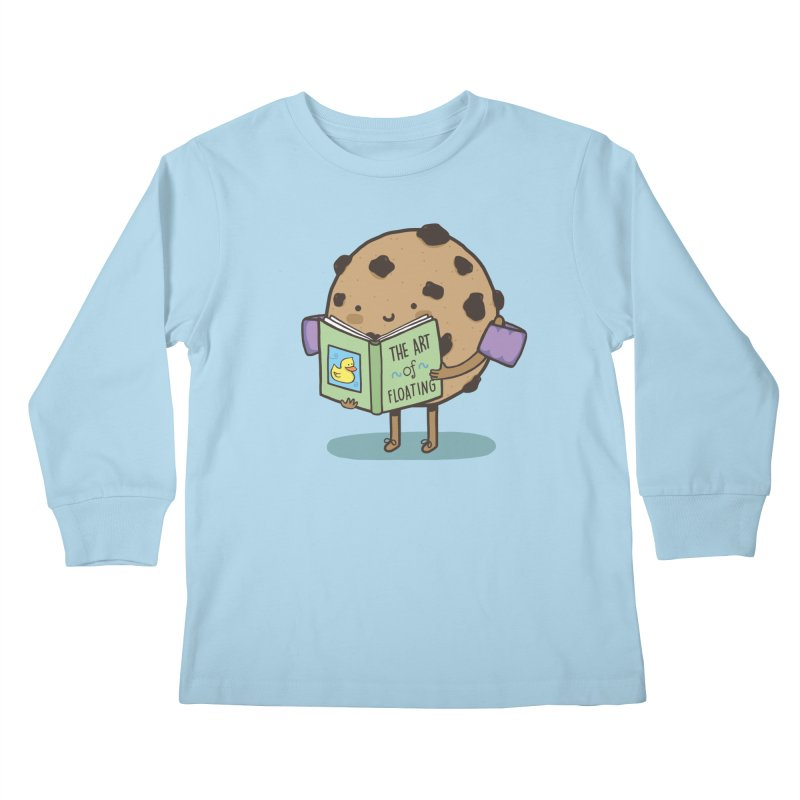 THE ART OF FLOATING Kids Longsleeve T-Shirt by RiLi's Artist Shop