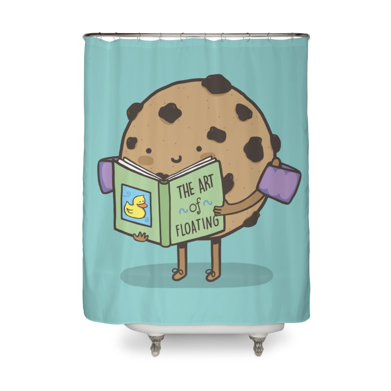 THE ART OF FLOATING Home Shower Curtain by RiLi's Artist Shop