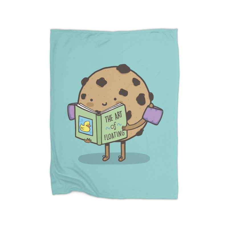 THE ART OF FLOATING Home Fleece Blanket Blanket by RiLi's Artist Shop