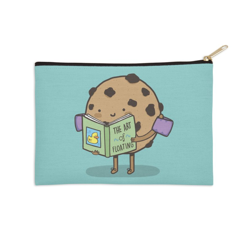THE ART OF FLOATING Accessories Zip Pouch by RiLi's Artist Shop