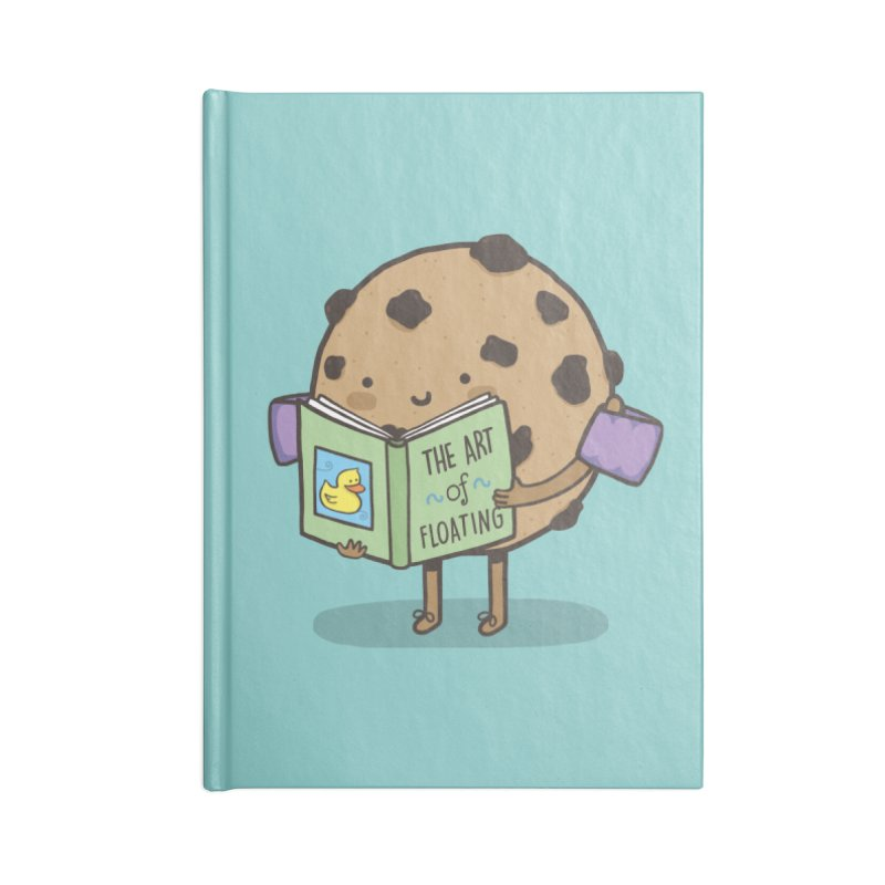 THE ART OF FLOATING Accessories Lined Journal Notebook by RiLi's Artist Shop