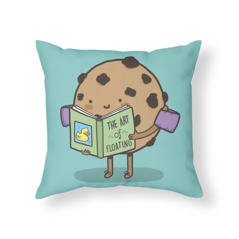 THE ART OF FLOATING Home Throw Pillow by RiLi's Artist Shop