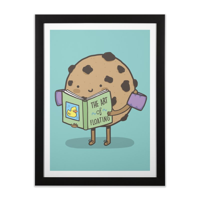 THE ART OF FLOATING Home Framed Fine Art Print by RiLi's Artist Shop