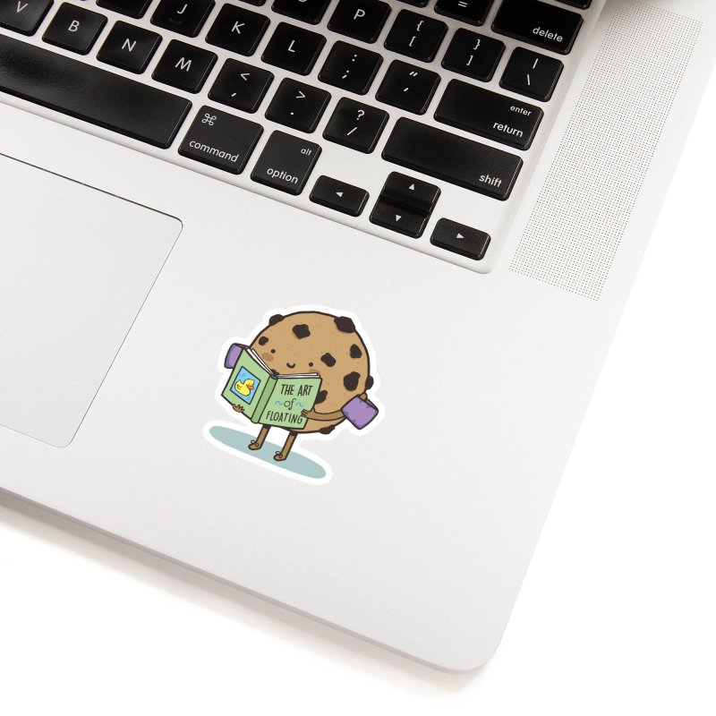 THE ART OF FLOATING Accessories Sticker by RiLi's Artist Shop