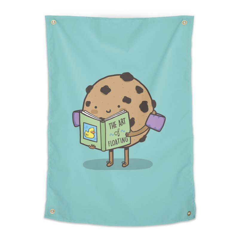 THE ART OF FLOATING Home Tapestry by RiLi's Artist Shop