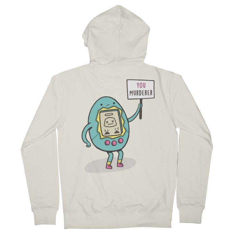 EVERYBODY'S FIRST VICTIM Men's Zip-Up Hoody by RiLi's Artist Shop