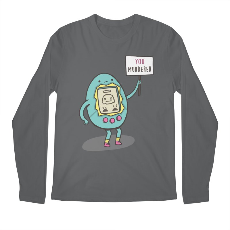 EVERYBODY'S FIRST VICTIM Men's Longsleeve T-Shirt by RiLi's Artist Shop