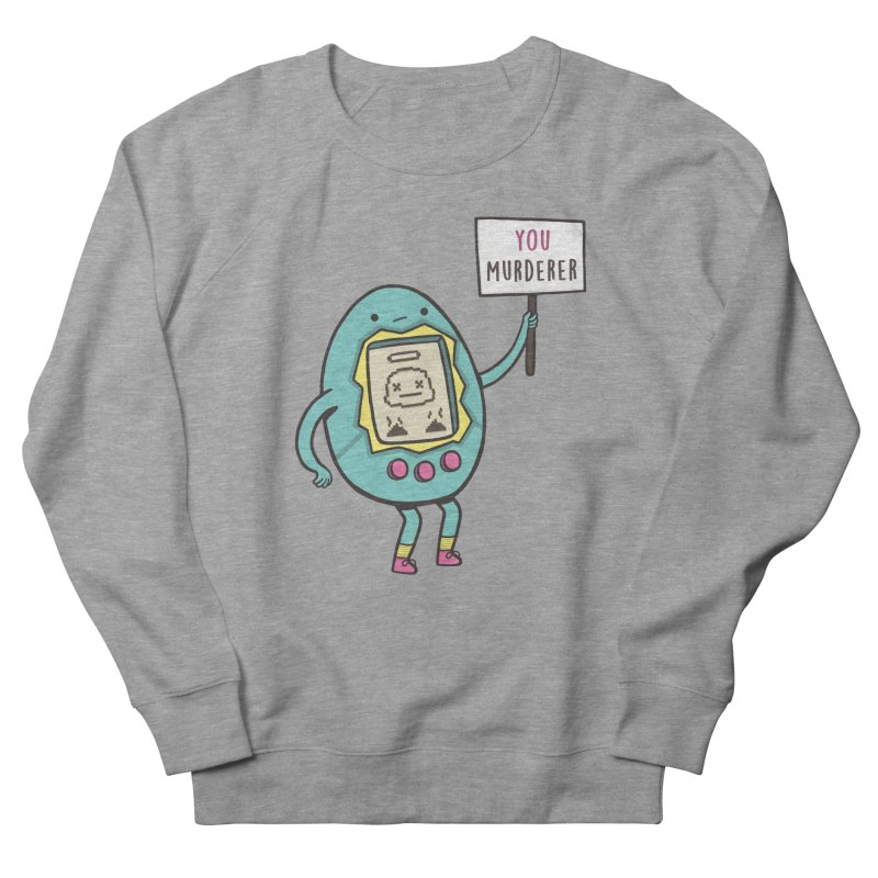 EVERYBODY'S FIRST VICTIM Women's French Terry Sweatshirt by RiLi's Artist Shop