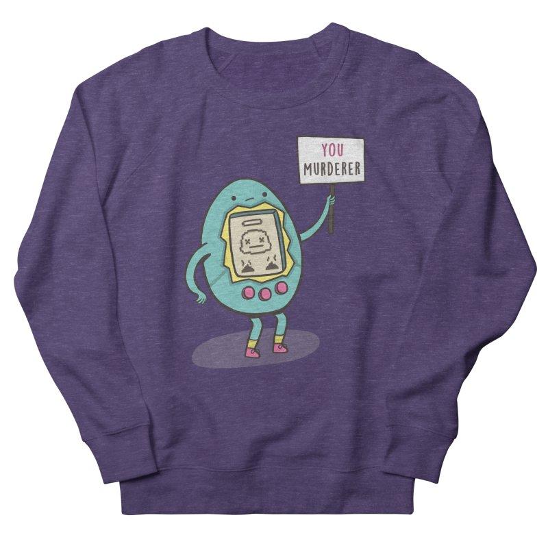 EVERYBODY'S FIRST VICTIM Men's French Terry Sweatshirt by RiLi's Artist Shop