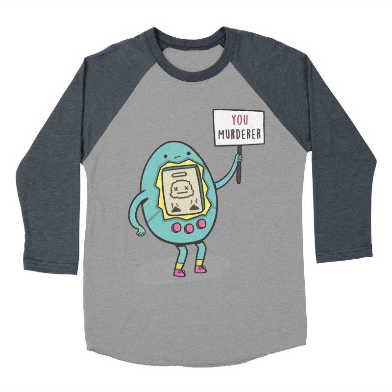 EVERYBODY'S FIRST VICTIM Men's Baseball Triblend T-Shirt by RiLi's Artist Shop