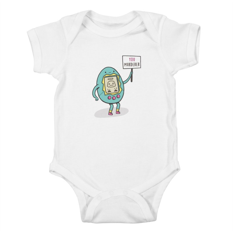 EVERYBODY'S FIRST VICTIM Kids Baby Bodysuit by RiLi's Artist Shop
