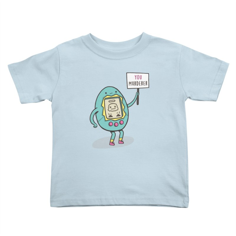 EVERYBODY'S FIRST VICTIM Kids Toddler T-Shirt by RiLi's Artist Shop