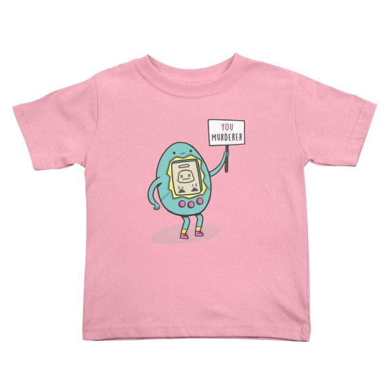 EVERYBODY'S FIRST VICTIM Kids Toddler T-Shirt by RiLi's Artist Shop