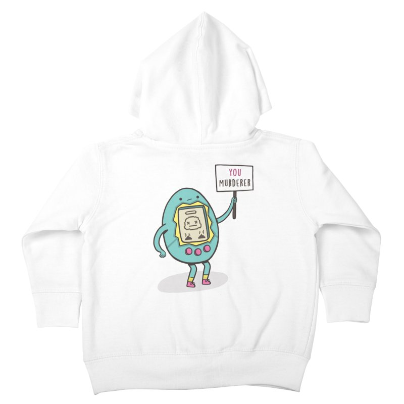 EVERYBODY'S FIRST VICTIM Kids Toddler Zip-Up Hoody by RiLi's Artist Shop