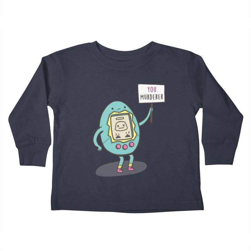 EVERYBODY'S FIRST VICTIM Kids Toddler Longsleeve T-Shirt by RiLi's Artist Shop