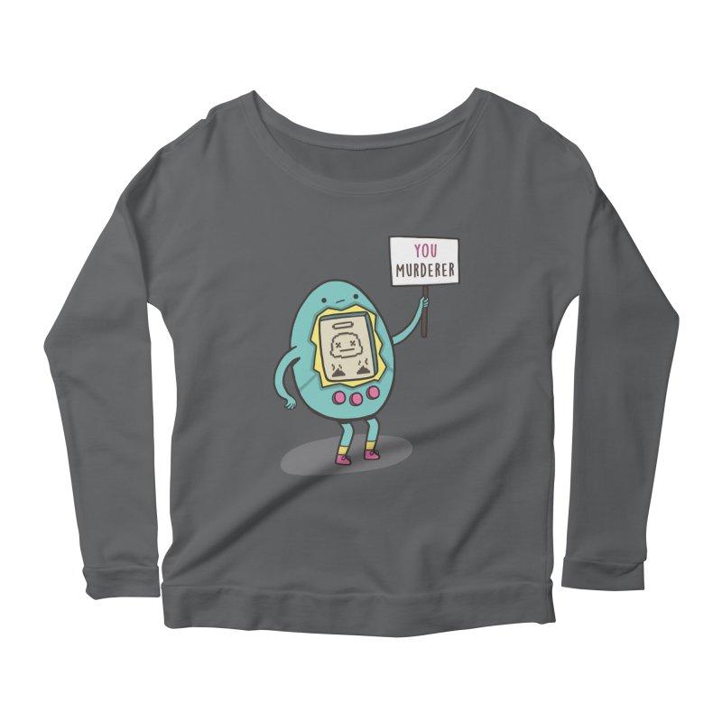 EVERYBODY'S FIRST VICTIM Women's Scoop Neck Longsleeve T-Shirt by RiLi's Artist Shop