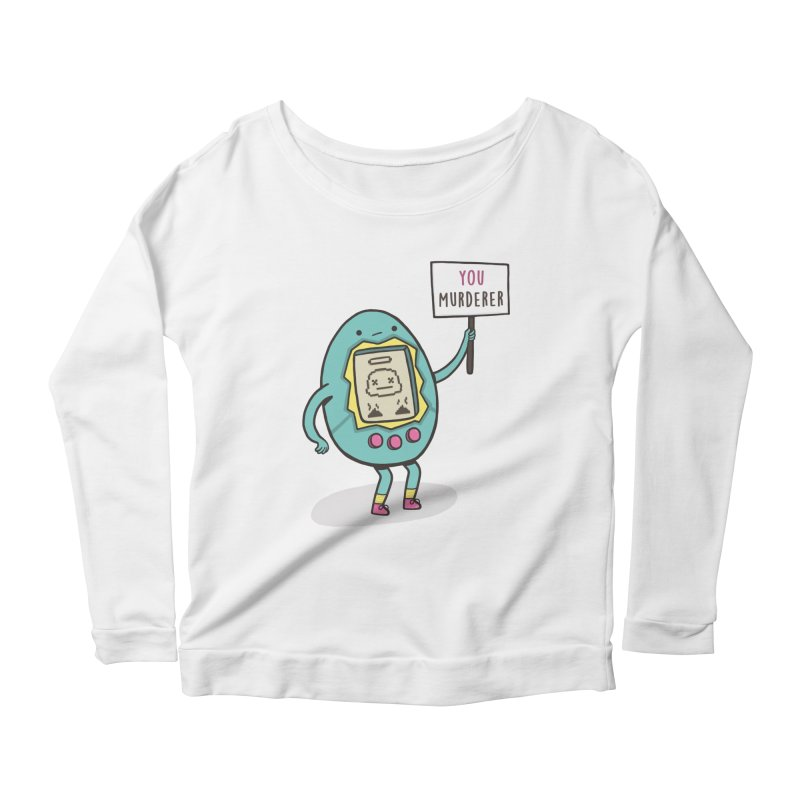 EVERYBODY'S FIRST VICTIM Women's Scoop Neck Longsleeve T-Shirt by RiLi's Artist Shop