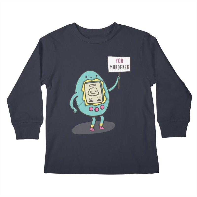 EVERYBODY'S FIRST VICTIM Kids Longsleeve T-Shirt by RiLi's Artist Shop