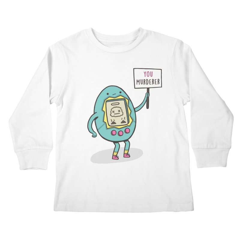 EVERYBODY'S FIRST VICTIM Kids Longsleeve T-Shirt by RiLi's Artist Shop