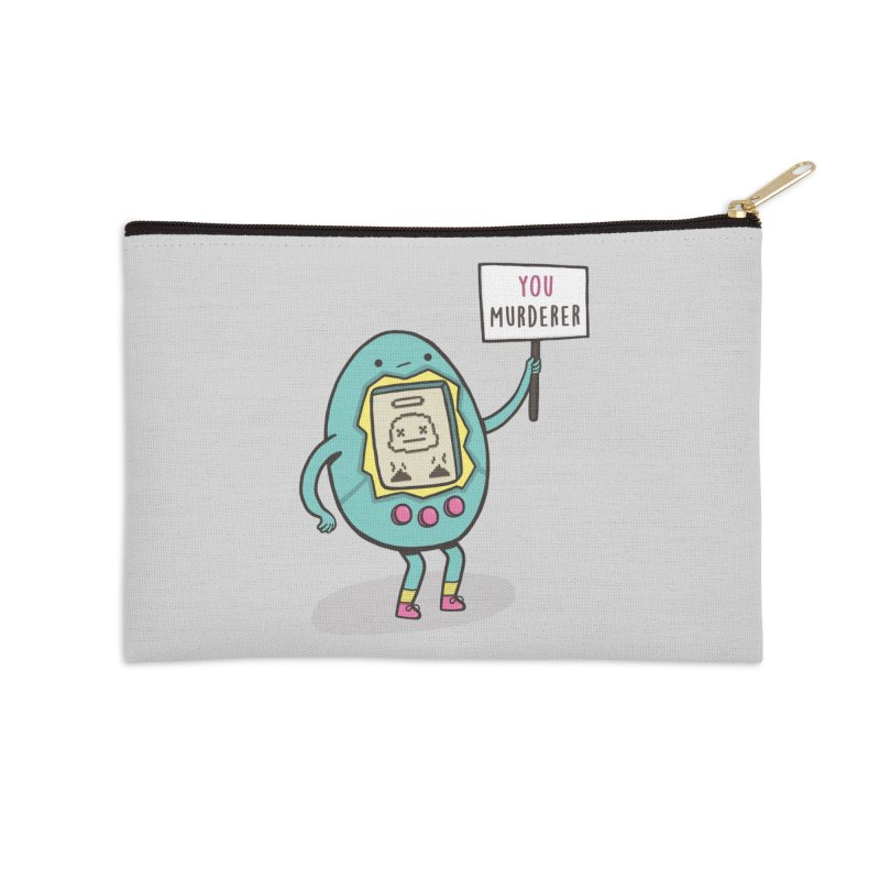 EVERYBODY'S FIRST VICTIM Accessories Zip Pouch by RiLi's Artist Shop