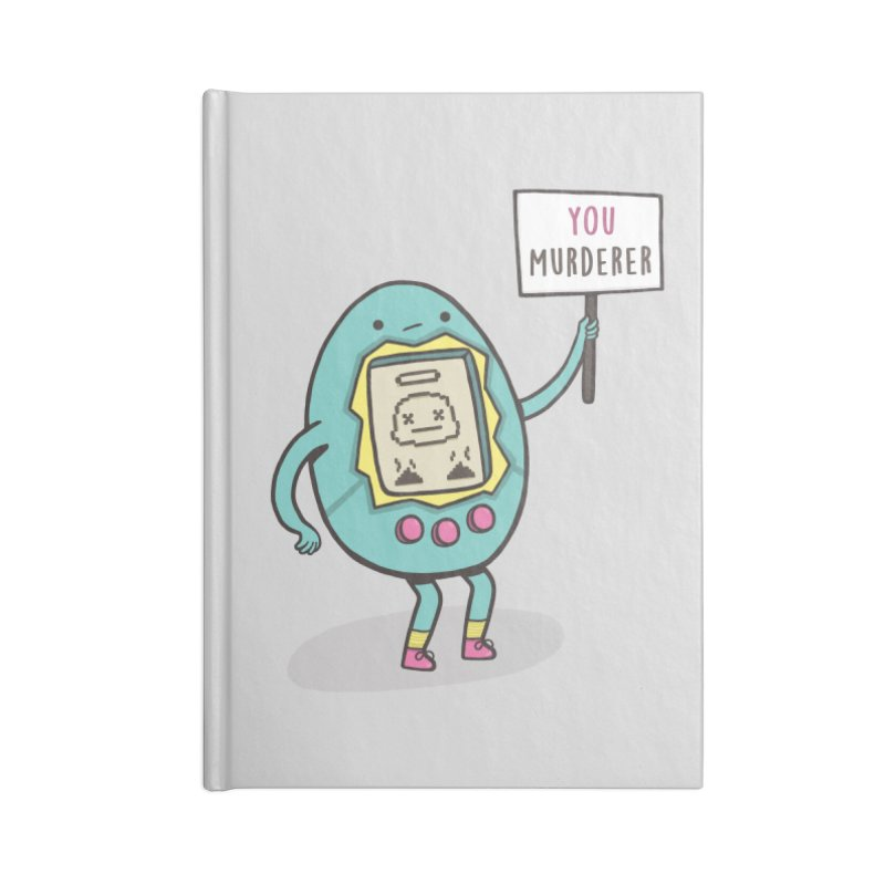 EVERYBODY'S FIRST VICTIM Accessories Lined Journal Notebook by RiLi's Artist Shop
