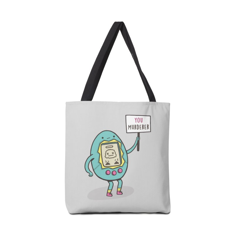 EVERYBODY'S FIRST VICTIM Accessories Tote Bag Bag by RiLi's Artist Shop