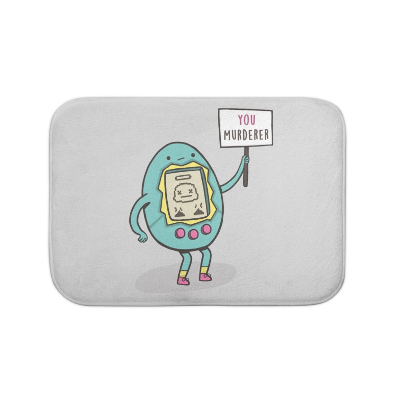 EVERYBODY'S FIRST VICTIM Home Bath Mat by RiLi's Artist Shop