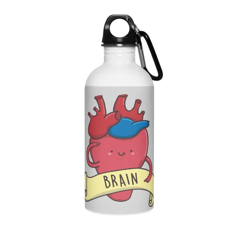 THE BRAIN Accessories Water Bottle by RiLi's Artist Shop