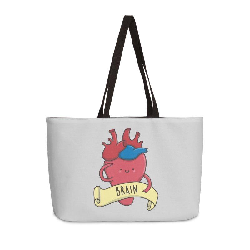 THE BRAIN Accessories Weekender Bag Bag by RiLi's Artist Shop