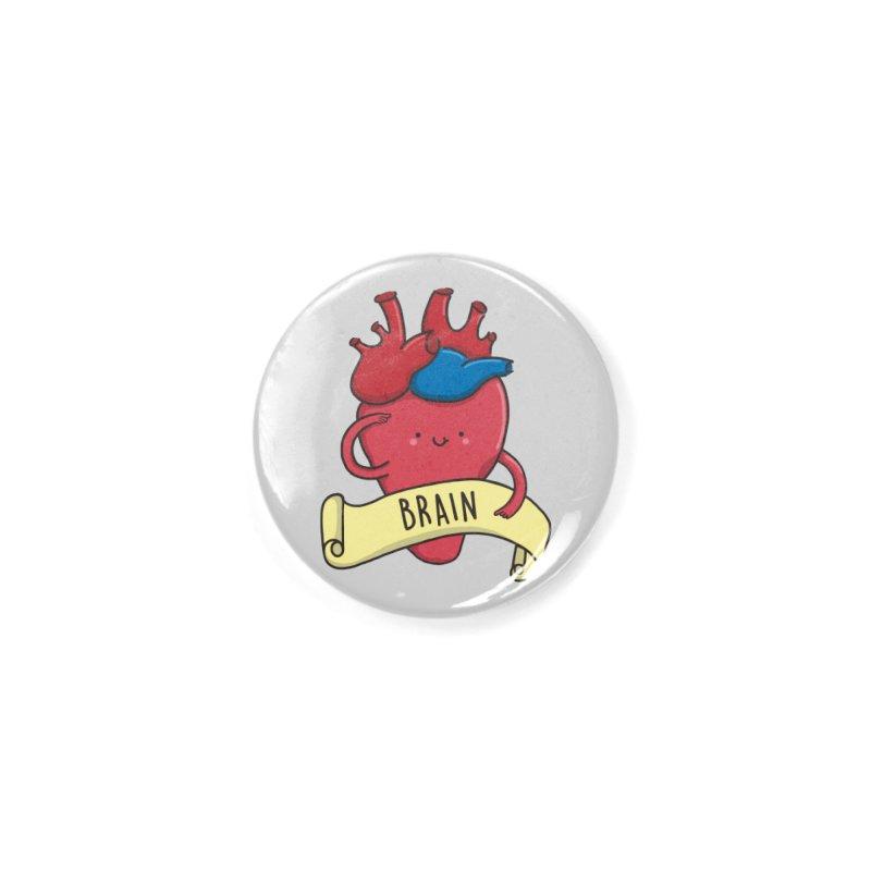 THE BRAIN Accessories Button by RiLi's Artist Shop